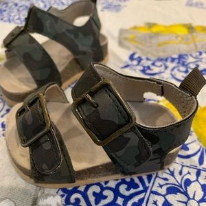 Children's Place Shoes - Children's Place camouflage toddler sandals